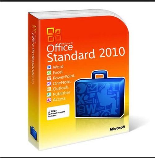 32 / 64 Bit Product Key Code PC Computer Software Microsoft Office 2010 Standard Digital Download