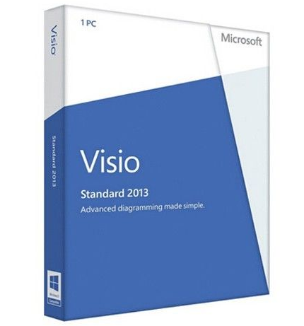 32/64- Bit Microsoft Office Visio Standard 2013 License And Download