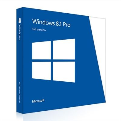 China Microsoft Windows 8.1 Pro OEM Key 64 Bits Full Version Online Activation supplier