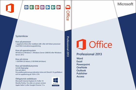 China Online Activate Microsoft Office 2013 License Key , Office Professional 2013 Download supplier