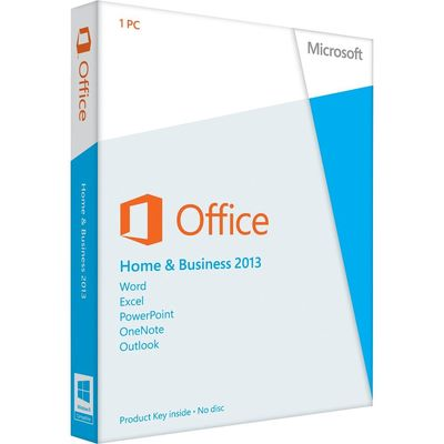 China Microsoft Office 2013 Software Retail Key Code , Microsoft Office Home And Business 2013 supplier