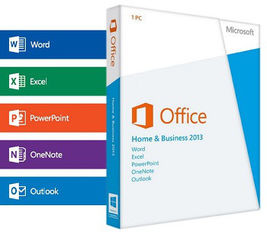 China Global Microsoft Office Professional 2013 Retail Box License Key With All Languages supplier