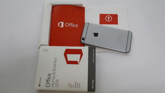 China Original Microsoft Office 2016 HB MAC retail box office HB data supplier