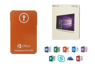 China Microsoft COA Sticker Office 2016 Professional Plus Product Key With 3.0 USB DVD Retail supplier