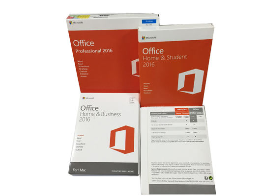 China Microsoft Windows PC Key Office 2016 Professional Product Key Code Online supplier