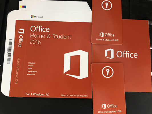 MS Office 2016 Home And Student Key Card , Microsoft Office 2016 Product Key Full Version