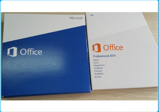 China Microsoft Office 2013 Professional Product Key / Retail  Package 1 Install Download Version supplier