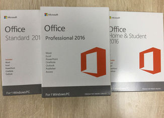 Full Version Microsoft Office Professional Plus 2016 License Key / Retail Package