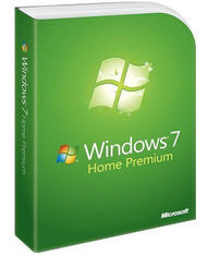 China Windows 7 Operating System , Windows 7 Home Premium 32 Bit / 64 Bits With Full Version supplier