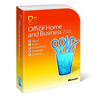 China Ms Office 2010 Home And Business / Microsoft Office Home & Business 2010 supplier