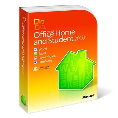 China Retail Version Microsoft Office Home And Student 2010 , Microsoft Office 2010 Product Key supplier
