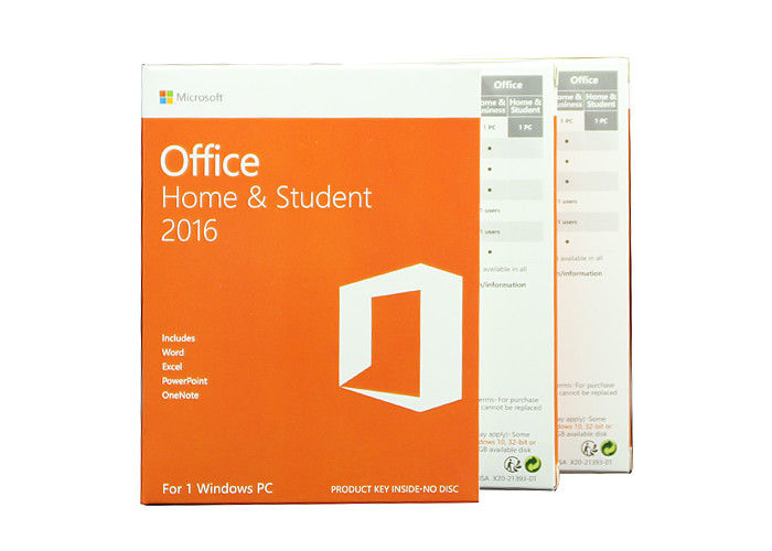 what programs are in microsoft office home and student 2016