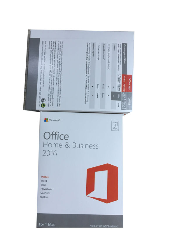 DVD Online Activation MAC Office 2016 HB Key 3 0 USB With