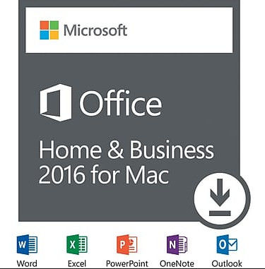 Microsoft MAC Office 2016 Home & Business Full Version For