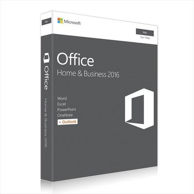 China Microsoft MAC Office 2016 Home and Business Web Download Directly distributor