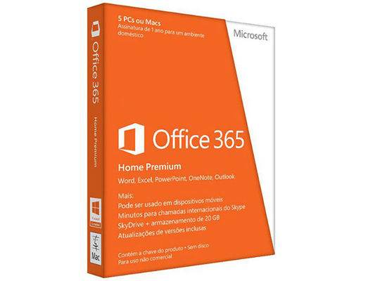 China Genuine Microsoft Office Home 365 Download , Office 365 License Key Global Language factory