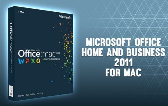 China Microsoft Office 2011 Home and Business for Mac- for Mac online activation - license distributor