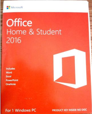 China Retail Microsoft Office Home And Student 2016 HS License Key 100% Online Activation distributor