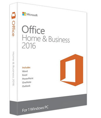 China MAC Office 2016 Microsoft Office Home and Business for MAC 2016 distributor