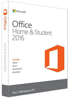 China Full Version Microsoft Office 2016 Home And Student Key For Windows distributor