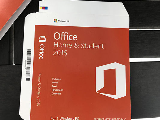 China MS Office 2016 Home And Student Key Card , Microsoft Office 2016 Product Key Full Version distributor