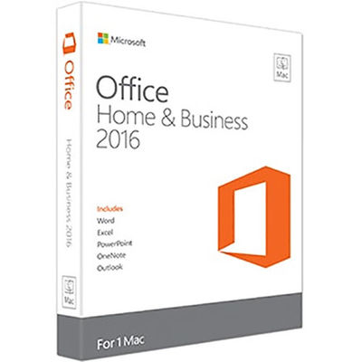 China Online Activation MAC Office 2016 Microsoft Office Home And Business 2016 distributor